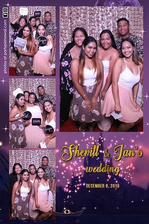 Ian & Sherill's Wedding (Magic Mirror Photo Booth)