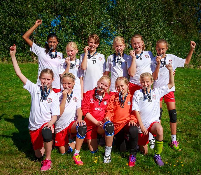 Sparebank 1 Cup 2015 ble en morsom opplevelse for Skedsmo J11.  Med 5 seiere av 5 mulige kunne både jenter og foreldre være stolte av innsatsen.  Spesiell takk til Keeley og Nina som gjorde en strålende jobb som Lageledere og Trener.