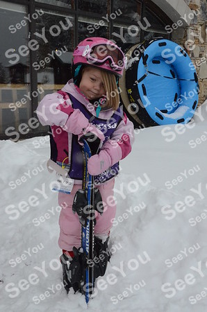 Tiny Tots Ski School 3-6-13