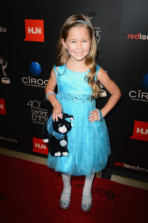 . Actress Brooklyn Rae Silzer attends The 40th Annual Daytime Emmy Awards at The Beverly Hilton Hotel on June 16, 2013 in Beverly Hills, California.  (Photo by Mark Davis/Getty Images)
