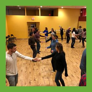 20190313 - St Patrick's West Coast Swing