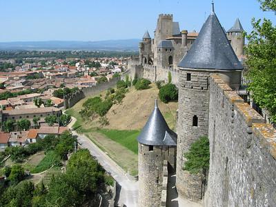Carcassonne, June 2002
