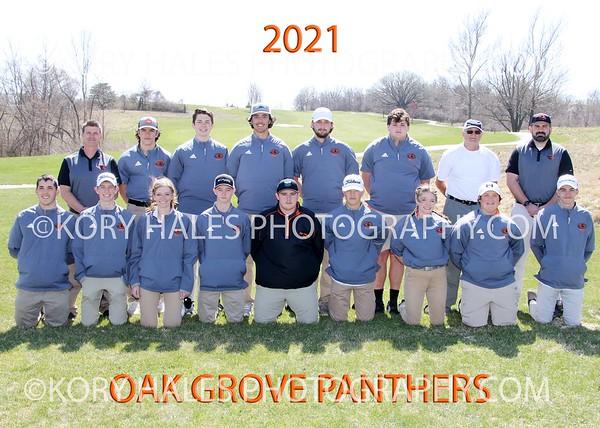 2021 OGHS Boys Golf