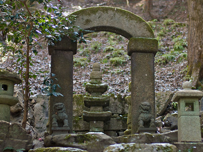 Stone carver's garden