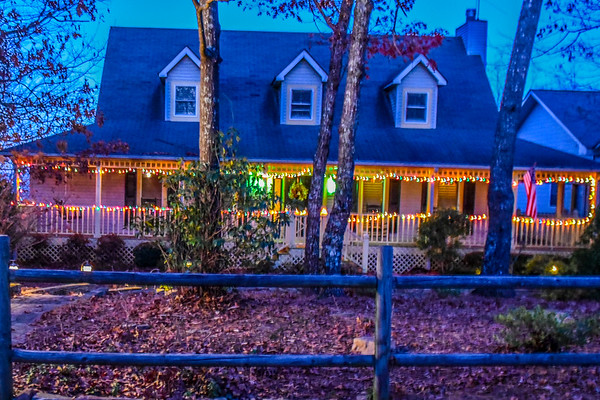 Christmas House Lights  -  11-27-17