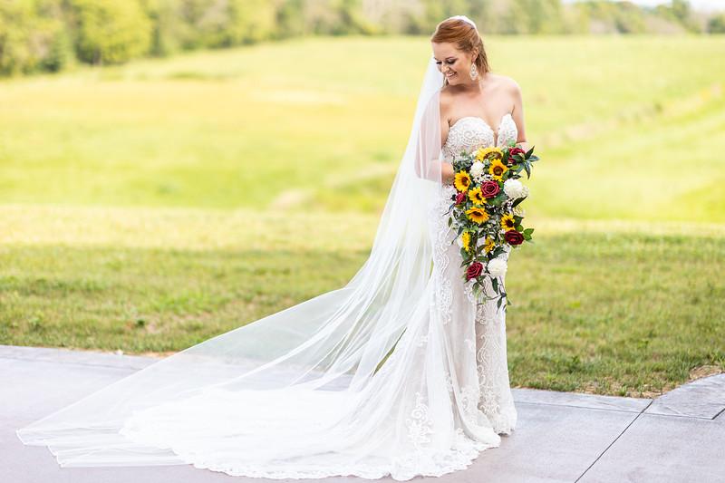 Katie | Bridal Session at East View Farms and Venue in Waynesboro, VA