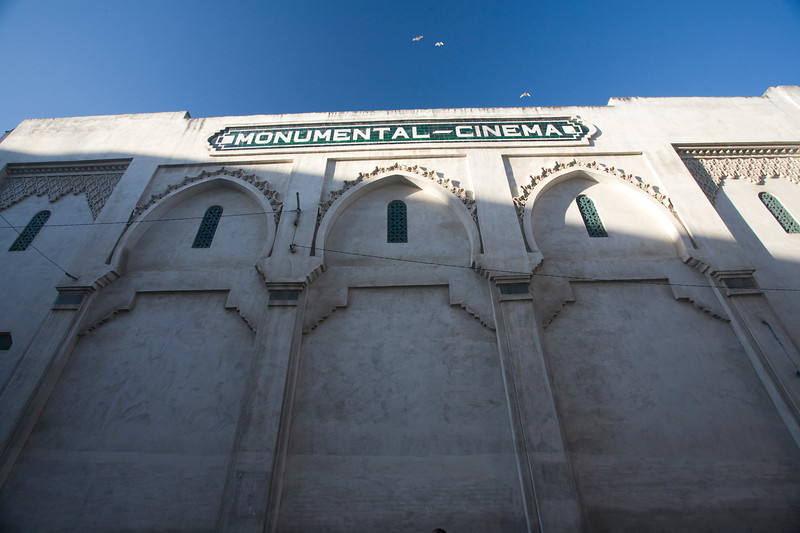 "Old Colonial Spanish cinema, ""Monumental Cinema"", Tetouan, Morocco"