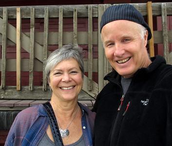 Vicki and David