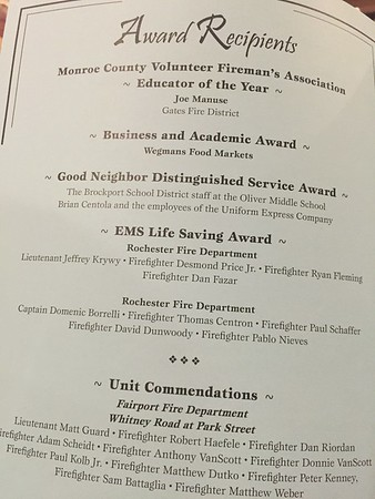 Jeff Krywy Award  Oct 13, 2016