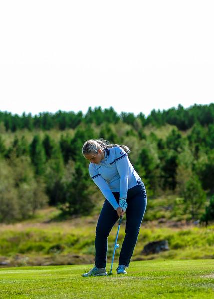 GK, Hafdís Alda Jóhannsdóttir Íslandsmót í golfi 2019 - Grafarholt 2. keppnisdagur Mynd: seth@golf.is