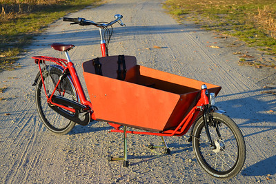 Bakfiets Arrival