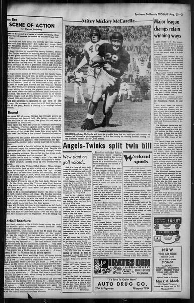 Southern California Trojan, Vol. 35, No. 25, August 30, 1943
