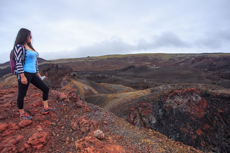 Galapagos: Sierra Negra Volcano