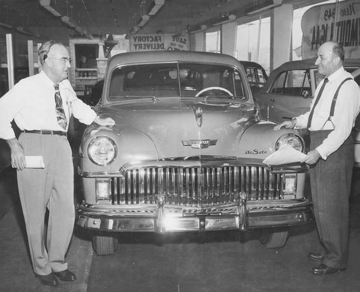 1948, A De Soto Inside