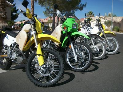 Lucas, Mel, Ken  June 12, 2011 Dual Sport Ride