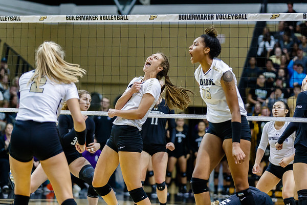 Purdue Volleyball vs Northwestern 2018-9-22