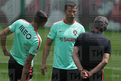 15.06.2017 - О тренировка сборной Португалии по футболу