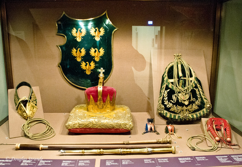 Display at the Imperial Treasury in Vienna