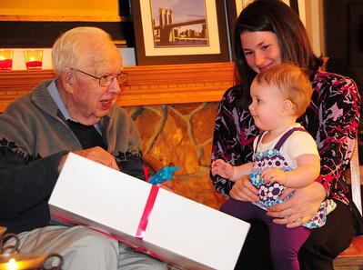 November birthdays party 11-13-09