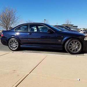 2003 BMW M3 - Carbon Black