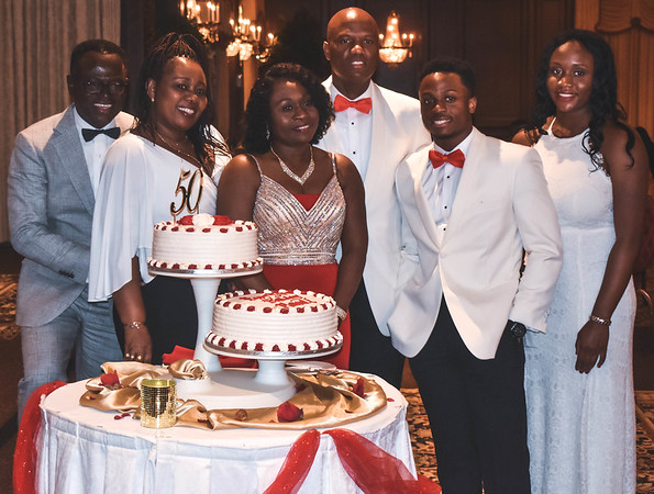Mawuli's 50th in New Jersey