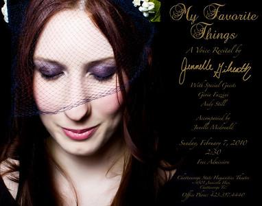 Jennelle Gilreath Recital