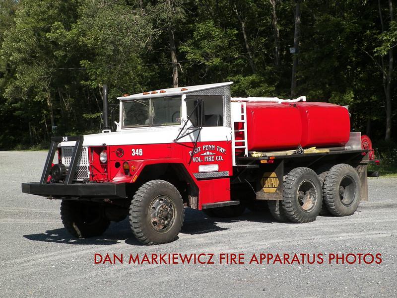 EAST PENN TWP. FIRE CO. BRUSH 346 1962 KAISER/EPTFC BRUSH TRUCK