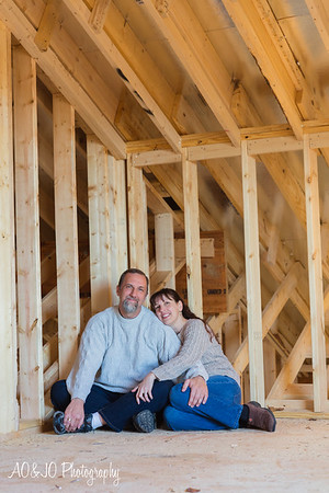 Tina & Ian :: New Home in the Making :: AO&JO Photography (Raleigh Portrait Photographer)