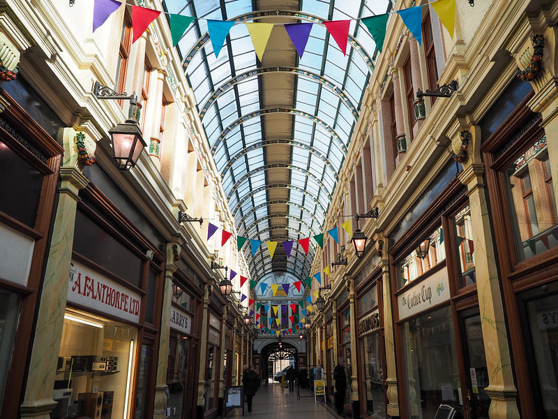 Hepworth Arcade in Hull, England