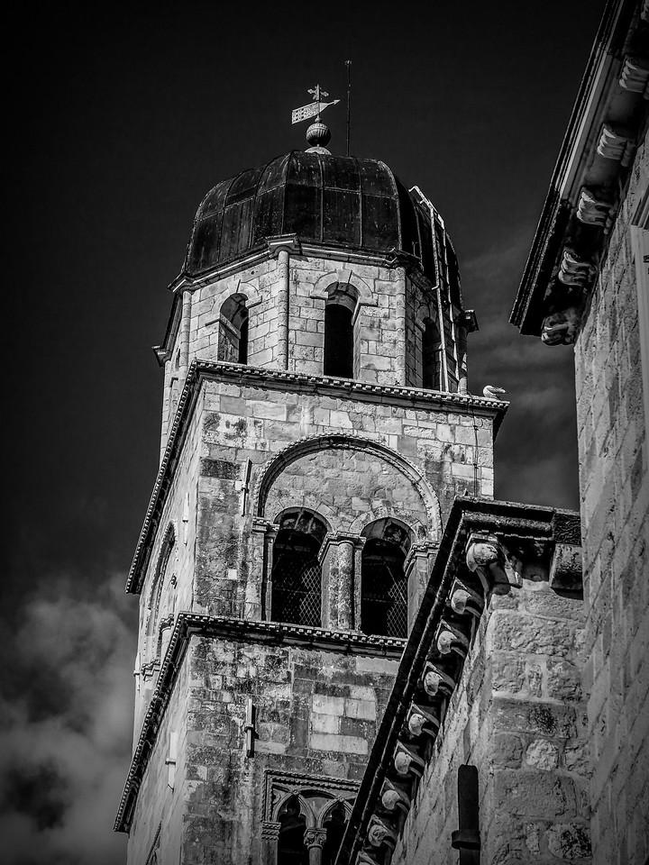 克罗地亚杜布罗夫尼克(Dubrovnik),看古建筑