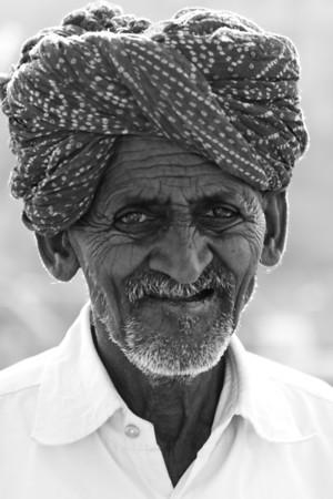 India. B&W story
