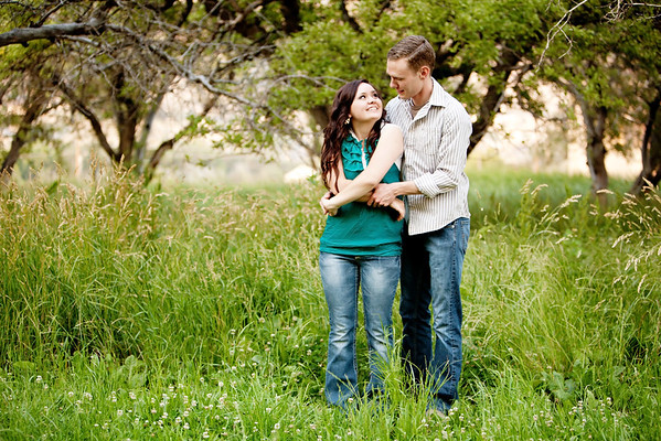 Chad & Ally {Engagements}