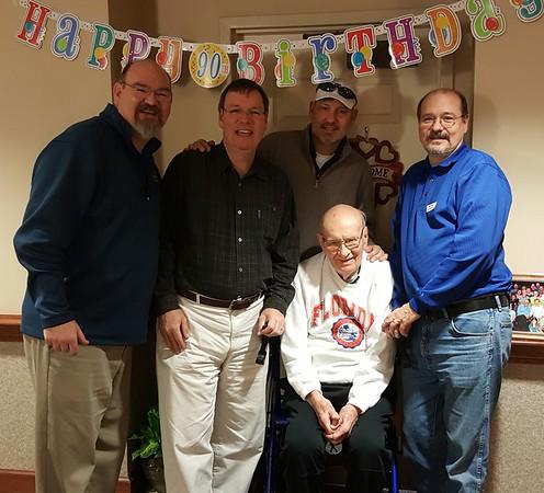 Papa 90th Birthday