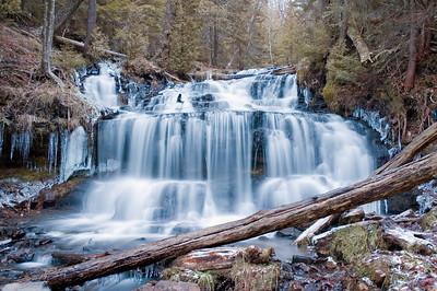 Munising Waterfalls - December 2006