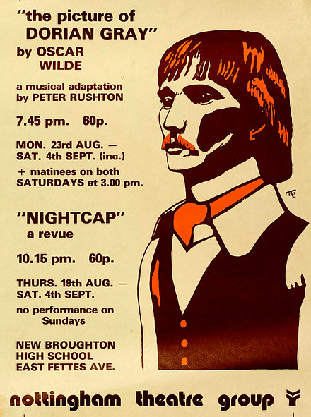 Nightcap: a revue poster