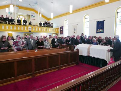 Paul Bastian's Funeral Service November 14, 2015