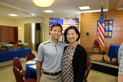 Rotary Congratulates Military Academy Appointees