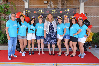 5th Grade Car Parade - Posed Photos