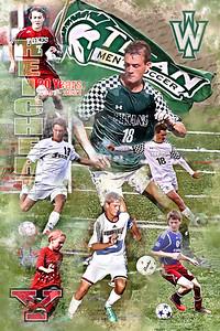 Bobby Reichert 20 Years of Soccer Print
