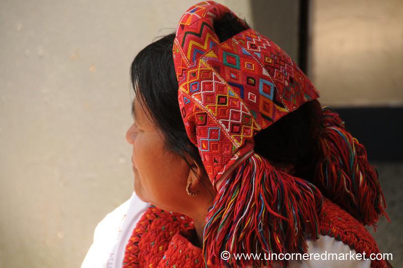Indigenous Head Wear - Totonicapan, Guatemala