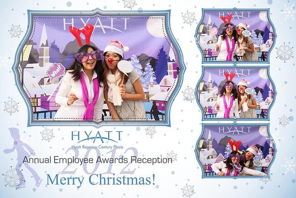 Hyatt Christmas 2012