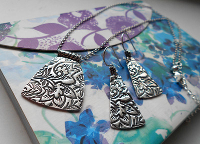 Fine Silver Necklaces & Bracelets  by Alasha Lantinga