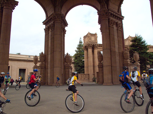 2009 San Francisco Unicycle Tour