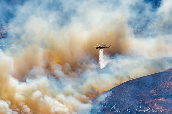 Elizabeth Lake Wildfire