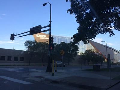U.S. Bank Stadium in Minneapolis Minnesota
