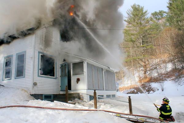 Sharon House Fire