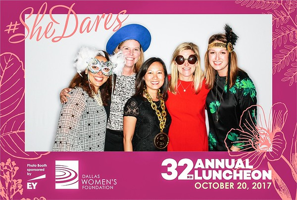 Dallas Womens Foundation 32nd Annual Luncheon at the Hilton Hotel in Dallas
