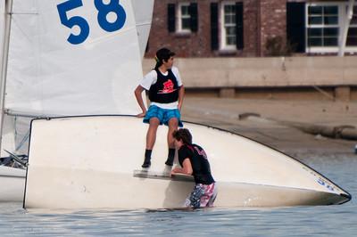 Mater Dei High School Sailing Team So Cal Series Jan 2010 at Balboa Yacht Club