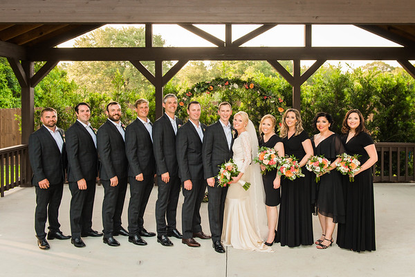 Wedding Party & Family Portraits