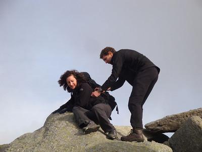 Snowdonia in November.